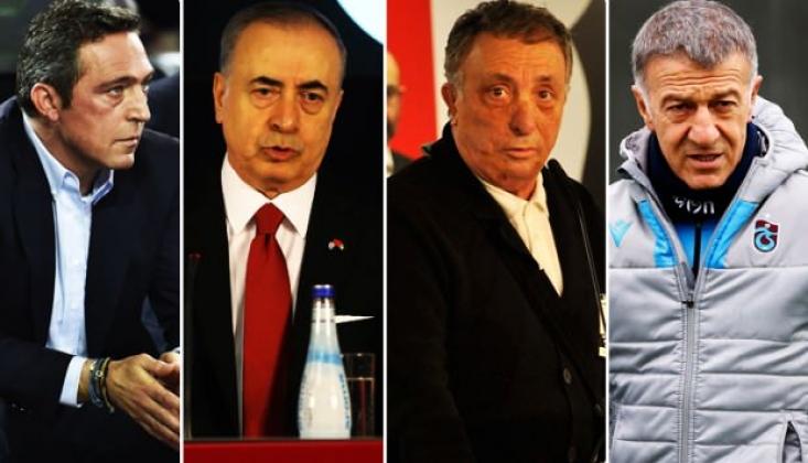 Dört Büyük Kulübün Başkanları Bir Araya Geliyor!