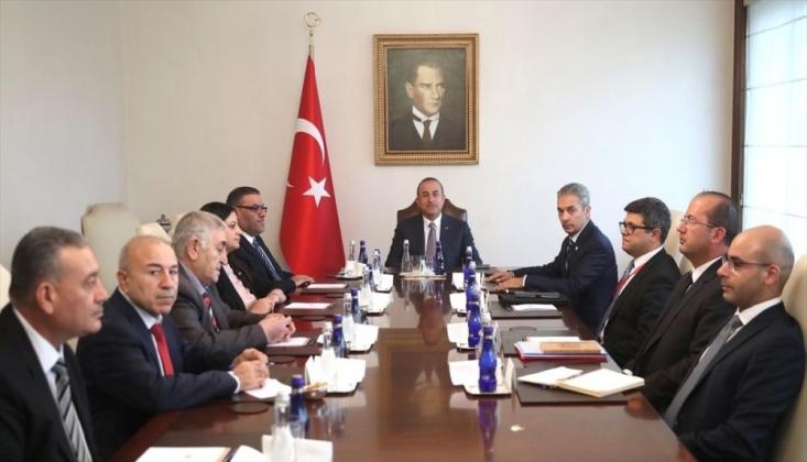Çavuşoğlu: Suriye'de Siyasi Çözüme Ulaşılması Önceliğimizdir