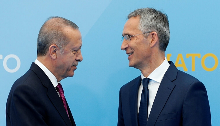 Erdoğan, Stoltenberg ile Telefonda Görüştü