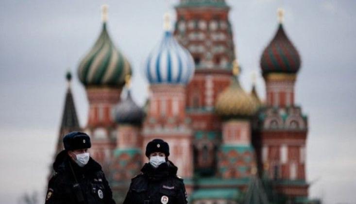 Rusya'da 4993 Yeni Koronavirüs Vakası