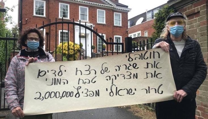 Londra'da Filistin'e Destek