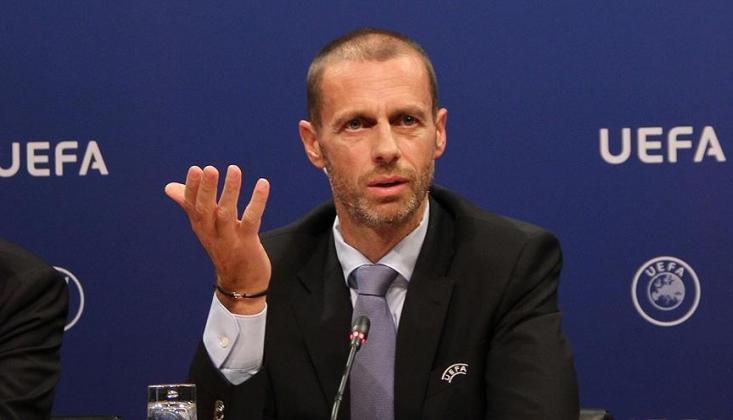 UEFA Başkanı Ceferin'den Avrupa Kupaları Açıklaması