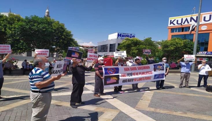 NATO, ABD ve Korsan İsrail Malatya'da Protesto Edildi