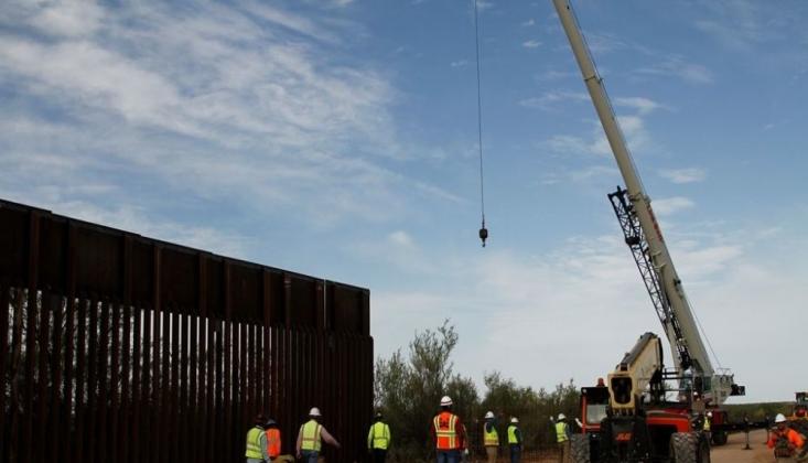 Pentagon'dan Meksika Duvarı İçin 3.6 Milyar Dolar Fon