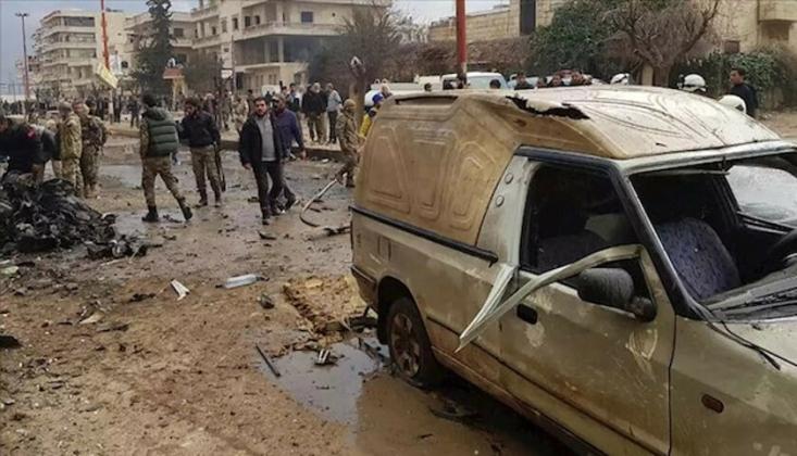 Afrin'de Bombalı Saldırı: 1 Ölü, 4 Yaralı