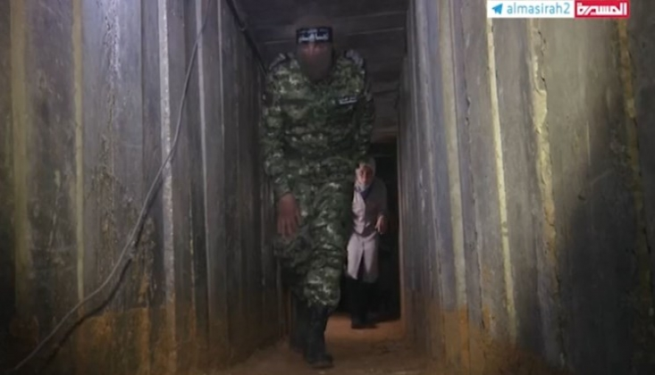 Gazze Şeridi'ndeki Direniş Gruplarının Tünelleri Görüntülendi /Video