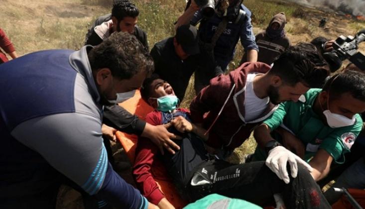 Irkçı İsrail Saldırısında 1 Filistinli Şehit Oldu