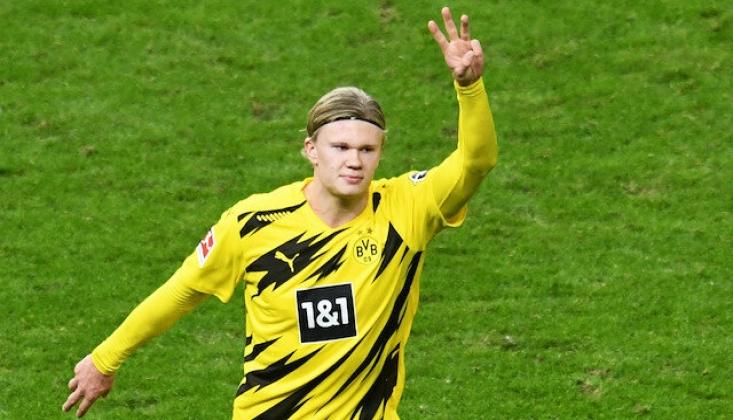Haaland Şov Yaptı; Borussia Dortmund, Hertha'yı Dağıttı!