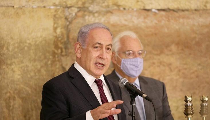 Netanyahu'dan UCM'nin Filistin Kararına Tepki