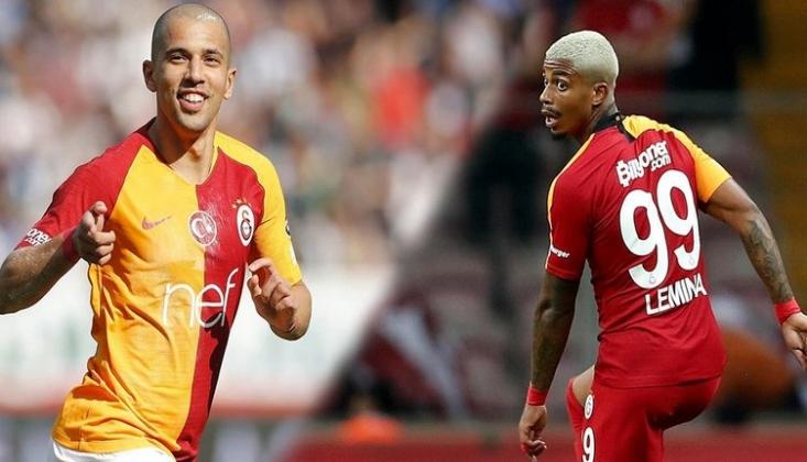 Galatasaray'da Lemina ve Feghouli de Yok!