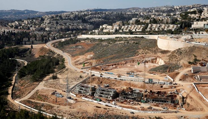 İsrail'den Batı Şeria'da 2 Bin 300 Konut İnşasına Onay