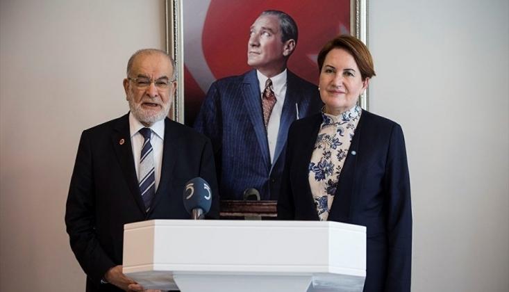 Akşener ve Karamollaoğlu'ndan Davutoğlu'na 'Kayyum' Telefonu