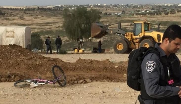 İşgal Güçleri El-Arakib Köyünü 147'nci Kez Yıktı