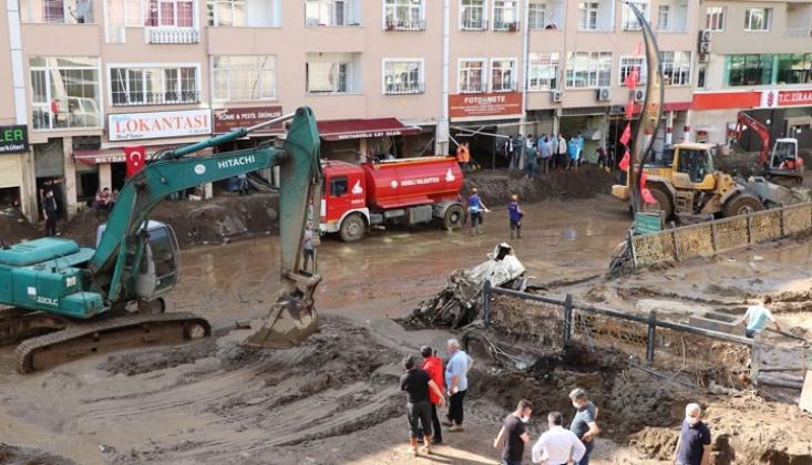 Giresun'daki Sel Felaketinde Hayatını Kaybedenlerin Sayısı Yükseliyor