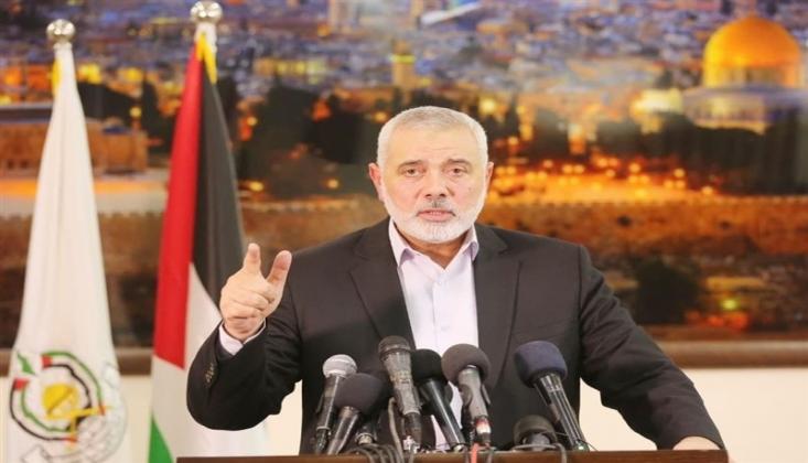 İsmail Haniye İslam Ümmetini Gazze'ye Destek Vermeye Çağırdı