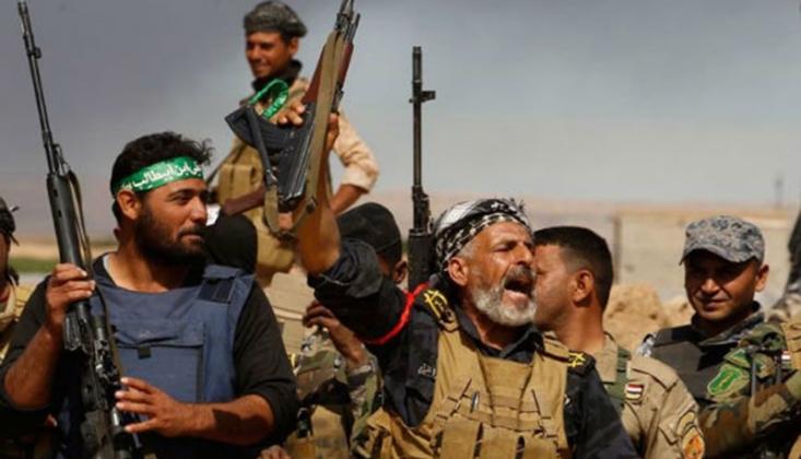 Haşdi Şabi IŞİD'in Saldırısını Geri Püskürttü