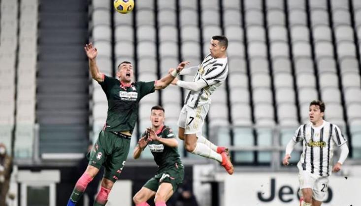 Ronaldo Attı, Juventus Farklı Kazandı!
