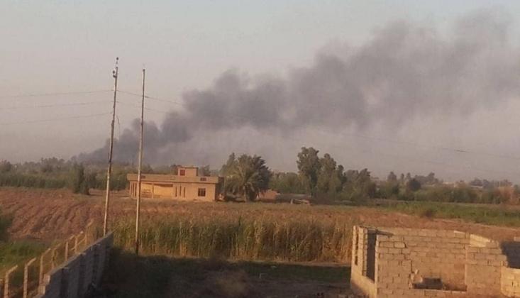 Irak'ta Haşdi Şabi'ye Ait Cephanelikte Patlama