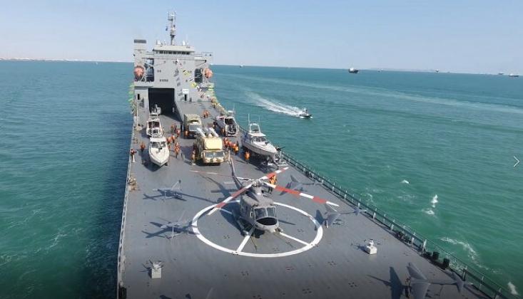 Devrim Muhafızları Donanması Filosuna Yeni Gemi Eklendi