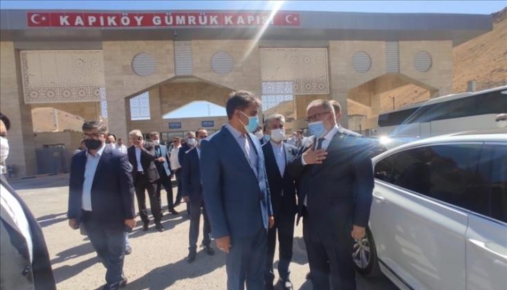 İran-Türkiye Sınır Kapısı Açıldı