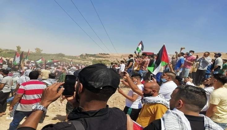 Ürdün Halkından Filistin'e Destek