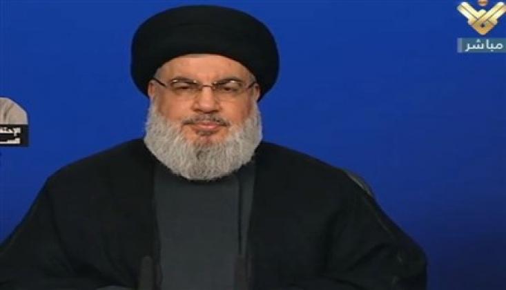 Nasrallah'tan Hariri Açıklaması