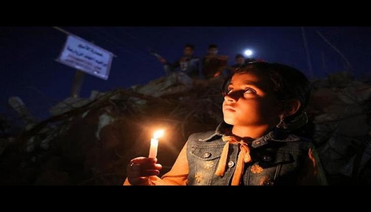 İşgalci İsrail'in Katlettiği Çocuklar Anıldı