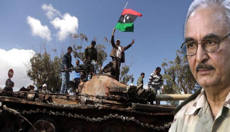 Halife Hafter Güçleri Trablus'a Saldırdı