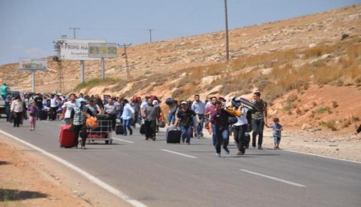 44 Bin Suriyeli Bayramlaşmak İçin Sınıra Akın Etti