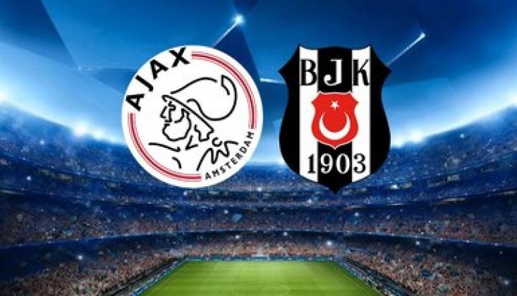 Beşiktaş Devler Ligi'nde Bugün Ajax'a Konuk Oluyor