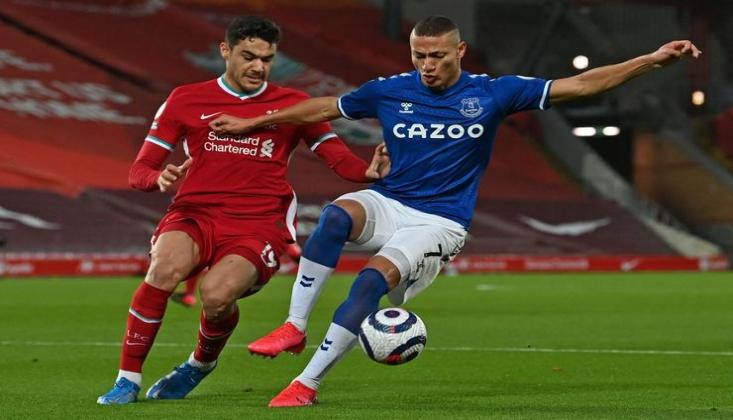Liverpool, Derbide Konuk Ettiği Everton'a Yenildi
