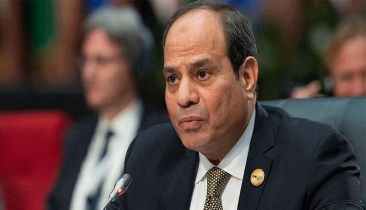 Sisi'den Suriye'deki Teröristlerin Libya'ya İntikali Tepkisi