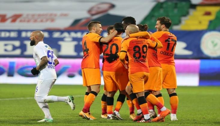 Galatasaray, Rize'de Diagne İle Güldü
