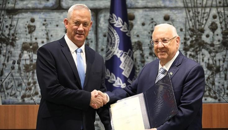 İsrail'de Hükümeti Kurma Yetkisi Gantz'a Verildi