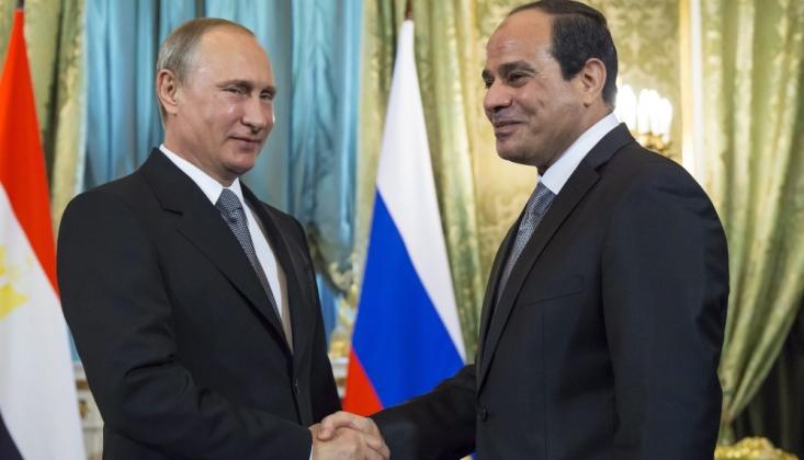 Putin ve Sisi Nükleer Enerji Alanında İşbirliğin Geliştirilmesine Vurgu Yaptılar