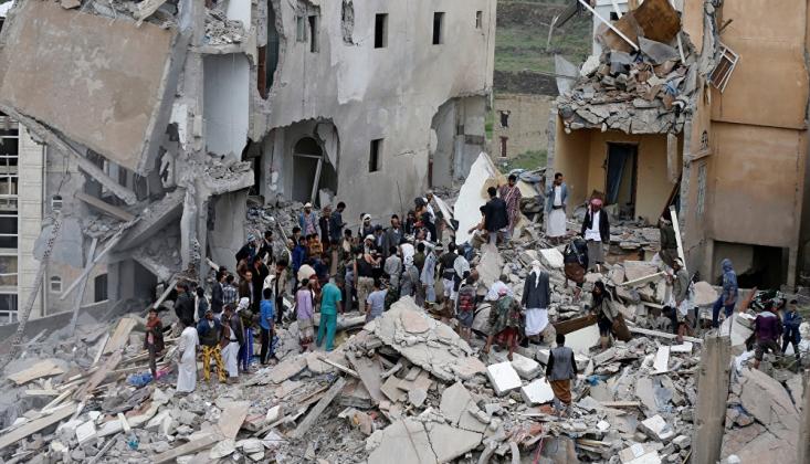 Suudi Koalisyonu Yine Yemenli Sivilleri Bombaladı