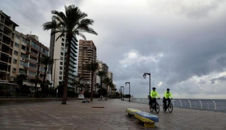 Lübnan'da Tam Gün Sokağa Çıkma Yasağı Başladı