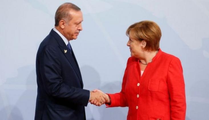 Erdoğan, Almanya Başbakanı Merkel ile Afganistan'ı Görüştü