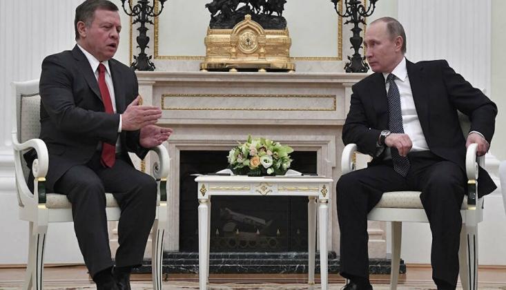 Putin Ürdün Kralı ile Suriye ve Libya'daki Durumu Görüştü