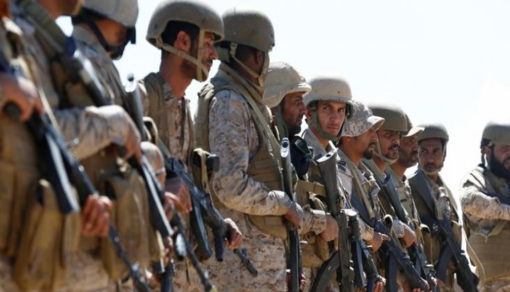 Suudi Arabistan Suriye'nin Kuzeyine Asker Gönderdi