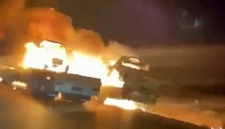 Kuzey Irak'ta ABD Konvoyuna Saldırı