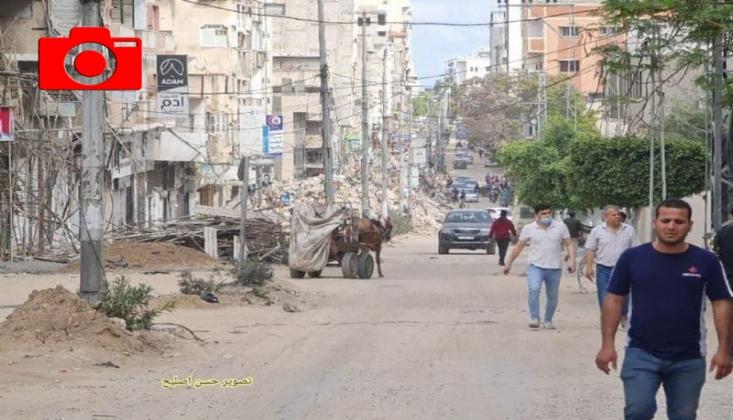 Gazze Sokakları Normale Dönüyor