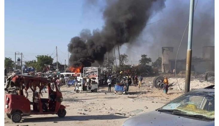 Somali'de Bombalı Saldırı: En Az 90 Ölü