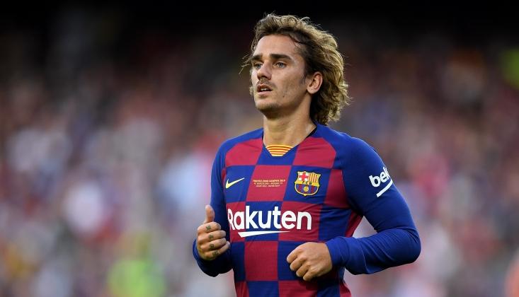 Barcelona'ya Antoine Griezmann Cezası!