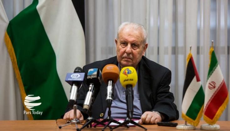 Filistin Büyükelçisinden İmam Hamanei'ye Şehit Süleymani İçin Taziye Mesajı