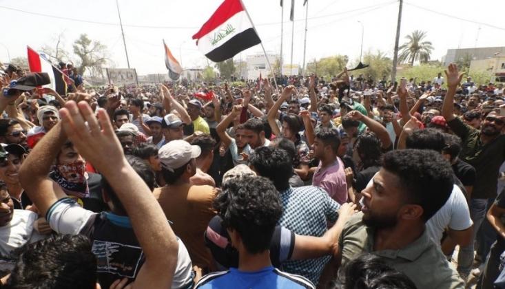 Basra'da Protesto Eylemleri Yeniden Başladı