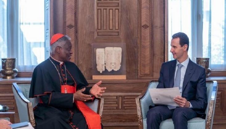 Papa'dan Suriye'de İstikrara Destek