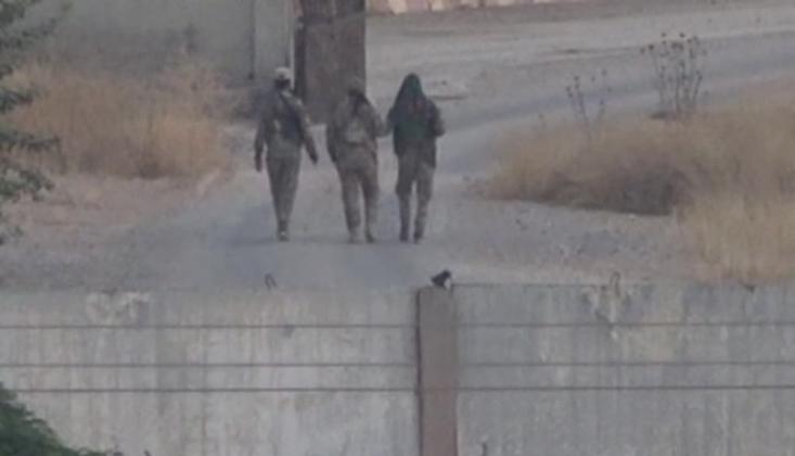 'YPG'liler Sınırda Görüntülendi'