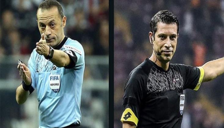 Cüneyt Çakır ve Ali Palabıyık'a Şampiyonlar Ligi'nde Görev