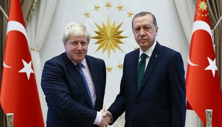 Erdoğan, İngiltere Başbakanı Boris Johnson İle Görüştü